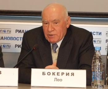Лео Бокерия, главный кардиохирург Минздавсоцразвития РФ, президент Общероссийской общественной организации