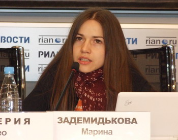 Марина Задемидькова, советник руководителя Федерального агентства по делам молодежи комиссар движения