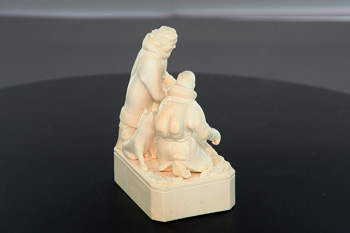 Отсканированный 3D – сканером музейный экспонат. Фото: Анатолий Белов/Великая Эпоха