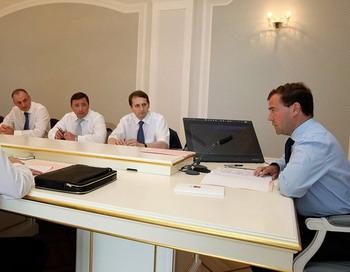 Cовещания по вопросам социально-экономического развития Республики Дагестан. Фото: сайт Президента