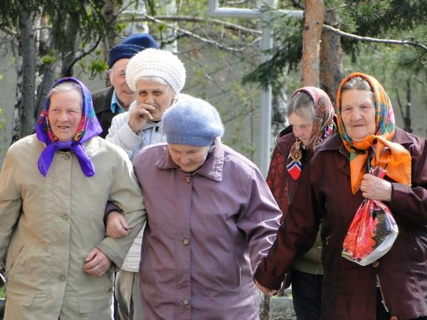 Чествование участников Великой Победы в Красноярске.Фото: Александр КУЛИКОВСКИЙ