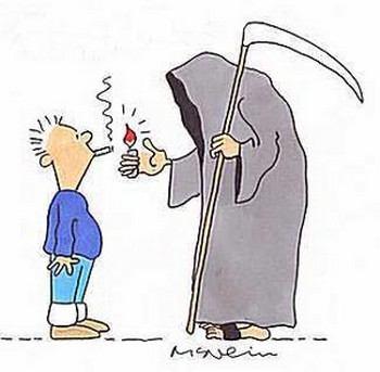 Ежегодно от болезней, возникших из-за курения, умирает 400 000 российских граждан. Фото с vokrugsveta.ru