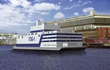 Проект плавучей атомной электростанции «Академик Ломоносов». Фото с wikipedia.org