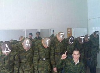 дедовщина в российской армии фото