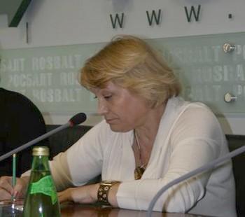 Исполнительный директор Ассоциации «Голос» Лилия Шибанова. Фото: golos.org