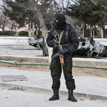 Массовые беспорядки в Жанаозене. Фото РИА Новости