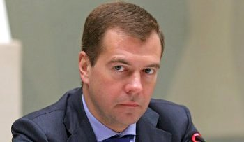 Президент Медведев может уйти. Фото с delo.ua