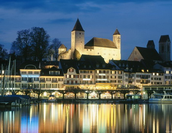 Швейцария - город Рапперсвиль. Фото: fotoart.org.ua