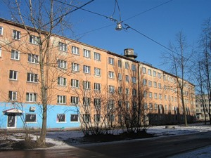 Во 2-м Рабфаковском переулке в Санкт-Петербурге обрушилась стена жилого дома. Фото с blog-pro-stroitelstvo.ru