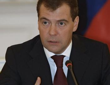 Дмитрий Медведев. Фото: VLADIMIR RODIONOV/AFP/Getty Images