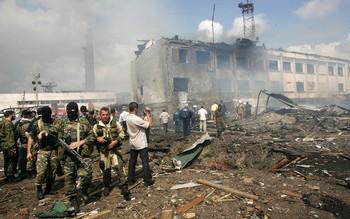 Спецоперация в Ингушетии завершена: Доку Умаров визуально не опознан среди убитых. Фото: AFP PHOTO / KAZBEK BASAYE/Getty Images