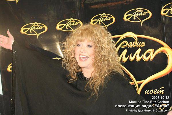 Алла Пугачева  в свой день рождения выступит художественным руководителем своей дочери - певицы Кристины Орбакайте. Фото с сайта  liveinternet.ru