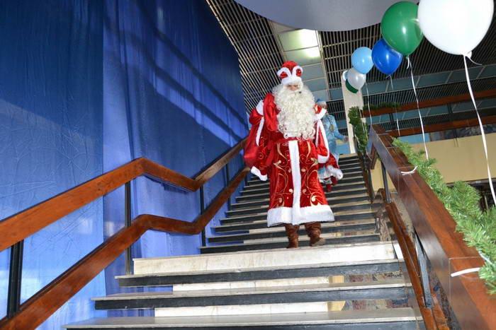 Дед Мороз. Фото предоставлено пресс-службой города Новороссийска