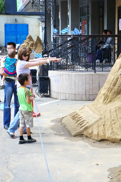 Фоторепортаж о выставке песчаных фигур в Иркутске. Николай Ошкай/Великая Эпоха