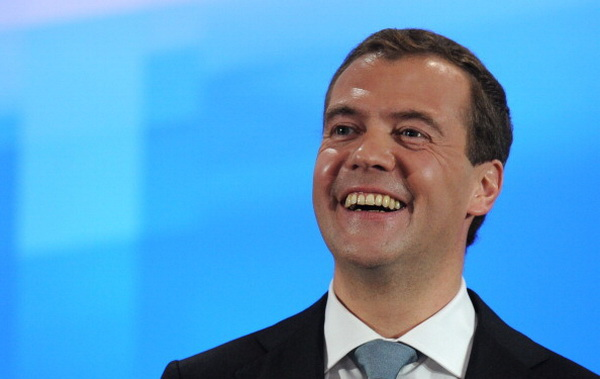 Фоторепортаж о расширенной пресс-конференции президента РФ Дмитрия Медведева в Сколково. Фото: AFP PHOTO / DMITRY KOSTYUKOV