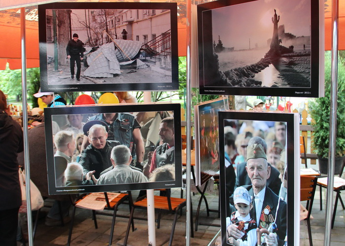 Фестиваль СМИ. Фотовыставка, авторами фотографий которых являются участники фестиваля. Фото: Андрей Михайловский/Великая Эпоха (The Epoch Times)