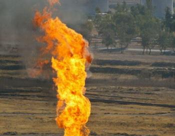 Последствия возгорания газа на Ямале ликвидируют к 15 маю. Фото: MARWAN IBRAHIM/AFP/Getty Images