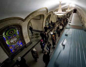 Новый участок метро построят рядом с «Москва-сити». Фото: NATALIA KOLESNIKOVA/AFP/Getty Images
