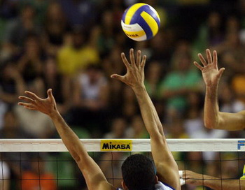 Волейбол. Фото: EVARISTO SA/AFP/Getty Images
