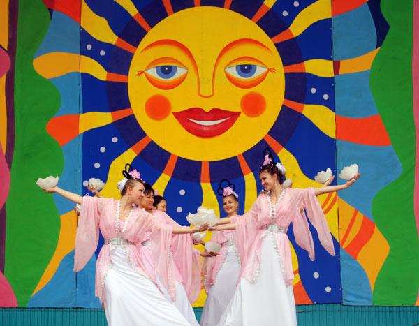 День Фалунь Дафа в Москве. Фото: Великая Эпоха (The Epoch Times)
