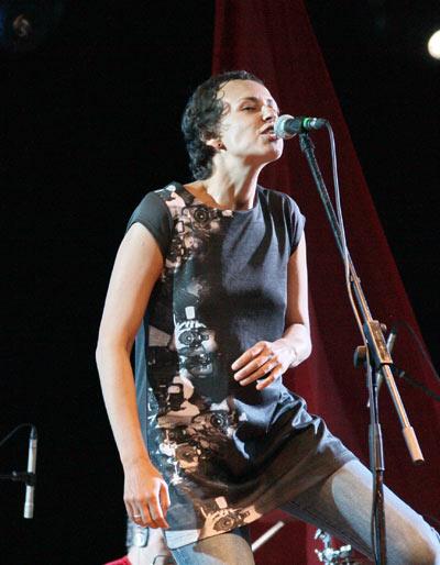 Чичерина на фестивале Морской узел-2011. Фото: Ульяна Ким/Великая Эпоха (The Epoch Times)