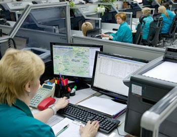 Диспетчерский центр скорой помощи. Фото РИА Новости