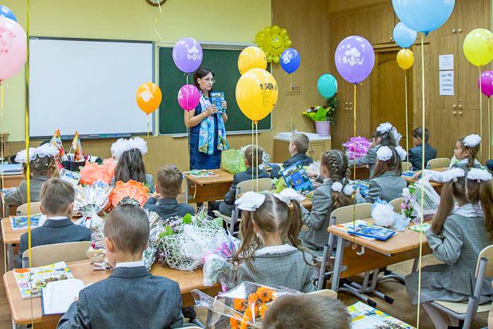 Первый урок в классе. Фото: Сергей Лучезарный/Великая Эпоха (The Epoch Times)