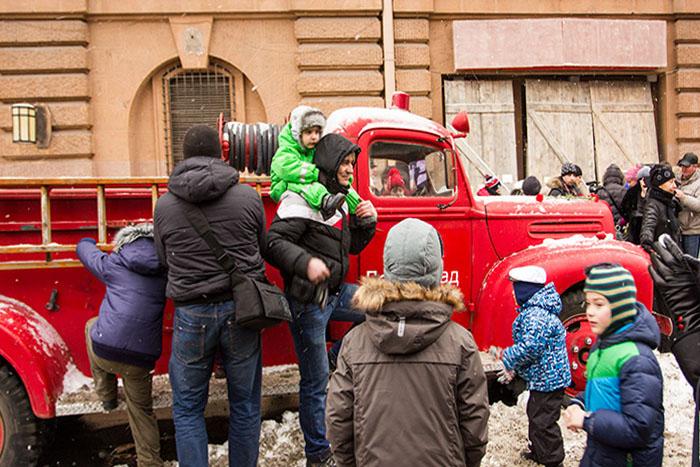 Экспозиция «Сохраните память о былом». Автомобили времён Великой Отечественной войны. Фото: Олег Луценко/Великая Эпоха (The Epoch Times)