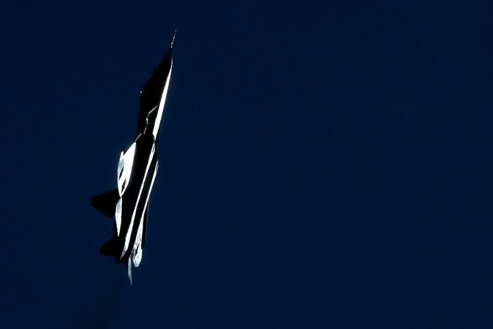 Истребитель Т-50. Фото: KIRILL KUDRYAVTSEV/AFP/Getty Images