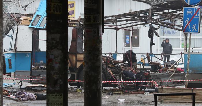 В результате второго теракта в Волгограде погибли 15 человек. Фото: STR/AFP/Getty Images