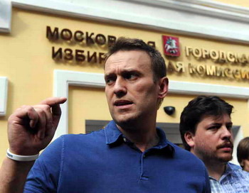 Алексей Навальный. Фото: VASILY MAXIMOV/AFP/Getty Images