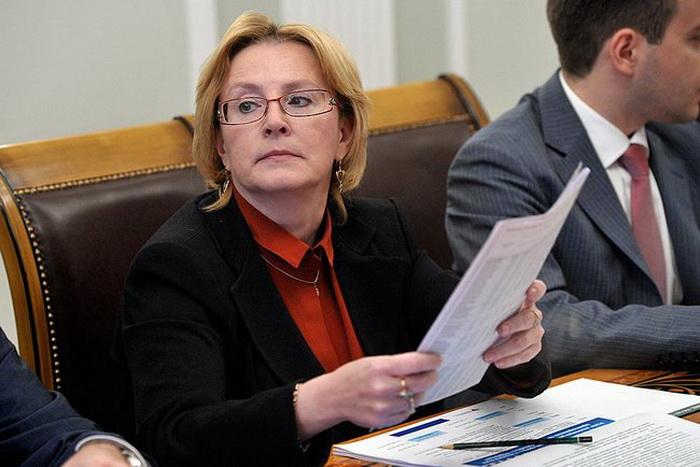 Министр здравоохранения Вероника Скворцова. Фото: Kremlin.ru