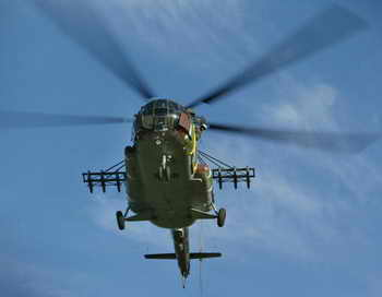 Вертолёт Ми-8. Фото: HENNIE KEERIS/AFP/Getty Images
