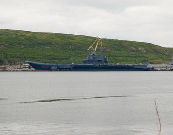 Тяжёлый крейсер «Адмирал Кузнецов». Фото: Maarten Dirkse/flickr.com