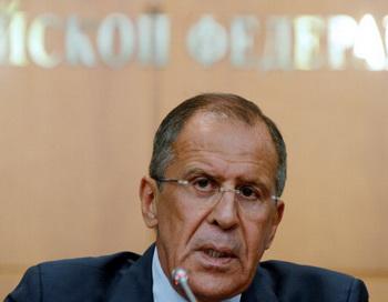 Глава российского МИД Сергей Лавров. Фото: KIRILL KUDRYAVTSEV/AFP/Getty Images