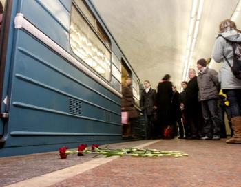 В московском метро машинист выпал из кабины поезда во время движения. Фото: ANDREY SMIRNOV/AFP/Getty Images