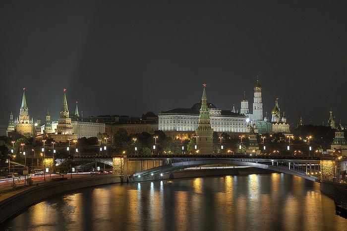 Кремль, Москва. Фото: Pavel Kazachkov/flickr.com