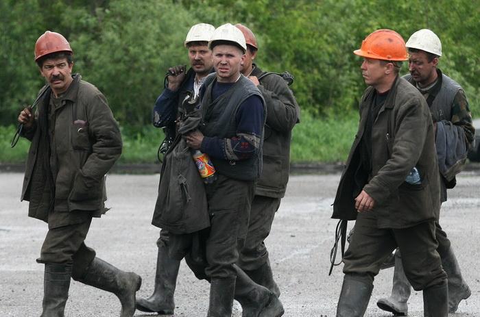 В Хакасии продолжается голодовка 13 шахтёров. Фото: YURI YURIYEV/AFP/Getty Images