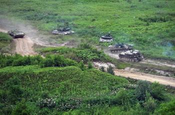 Внезапная проверка российских войск прошла без происшествий. Фото: ALEXEI NIKOLSKY/AFP/Getty Images