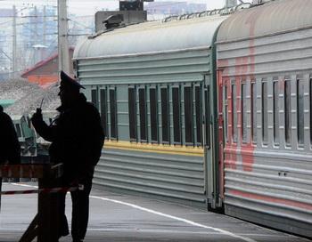 Электричка в Москве сбила пять человек. Фото: OLGA MALTSEVA/AFP/Getty Images