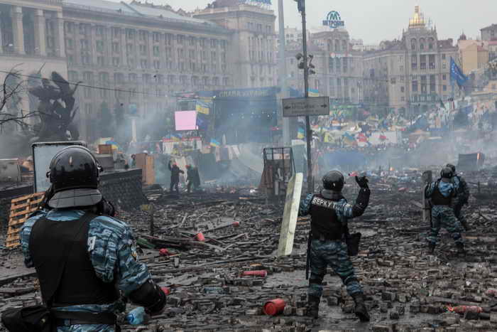 Украина. Киев. Фото: Brendan Hoffman/Getty Images