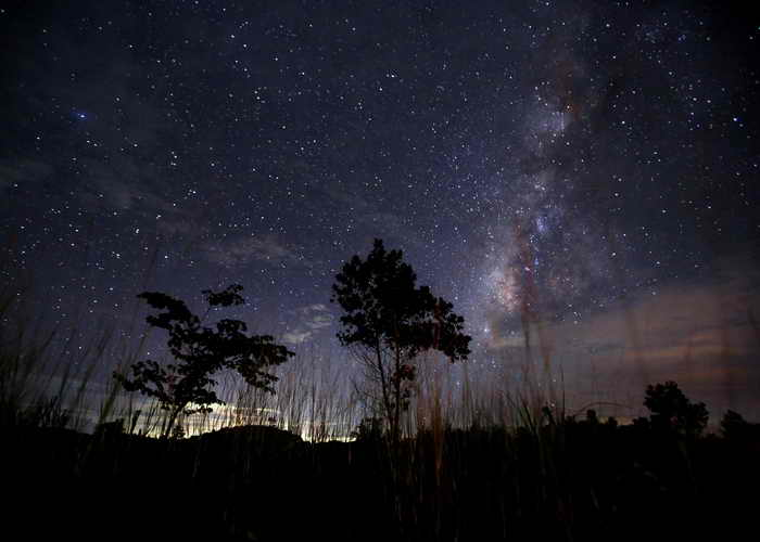 Звёздное небо. Фото: Ye Aung Thu/AFP/Getty Images