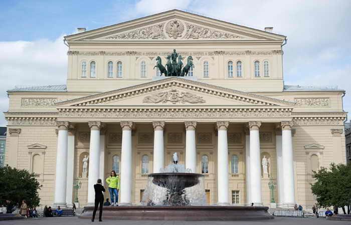Большой театр. Москва. Фото: NATALIA KOLESNIKOVA/AFP/Getty Images