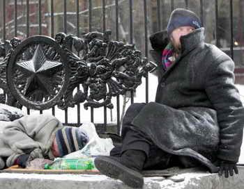 Москва переживает морозы. Фото: DENIS SINYAKOV/AFP/Getty Images