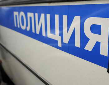 Два банкомата были похищены сегодня утром из отделения Сбербанка в Москве на Профсоюзной улице. Фото: ANDREY SMIRNOV/AFP/GettyImages