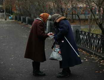 В России увеличивается численность граждан пенсионного возраста. Фото: Harry Engels/Getty Images