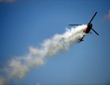 Российский вертолёт Ми-2. ATTILA KISBENEDEK/AFP/Getty Images