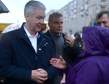 Сергей Собянин. Фото: VASILY MAXIMOV/AFP/Getty Images