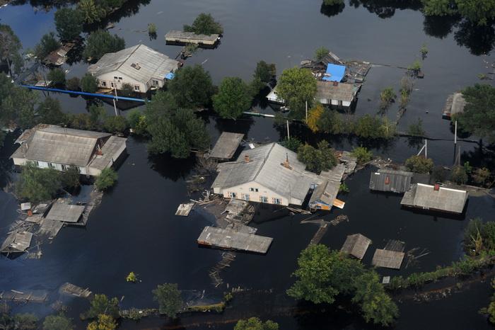 Наводнение. Фото: ALEXEI NIKOLSKY/AFP/Getty Images