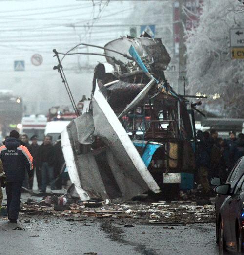 По новым сведениям, в результате второго теракта в Волгограде погибли 15 человек. Фото: STRINGER / AFP / Getty Images